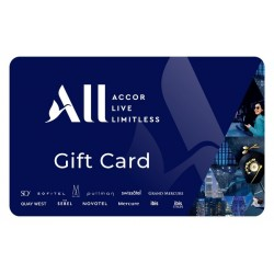 Accor Hotels Instant Gift Card - $100